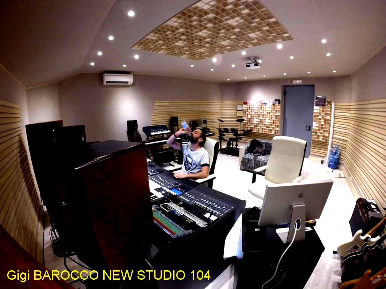 progetto studio registrazione Milano Gigi Barocco