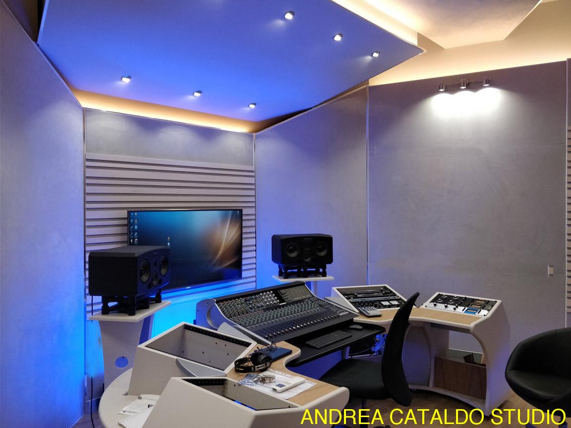 progetto insonorizzazione studio di registrazione Andrea Cataldo