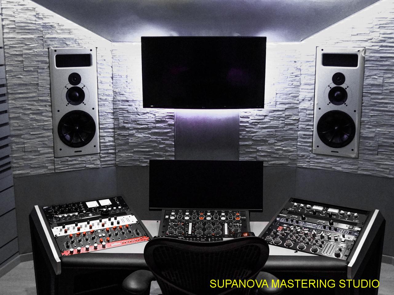 costruzione studio di registrazione mastering Supanova