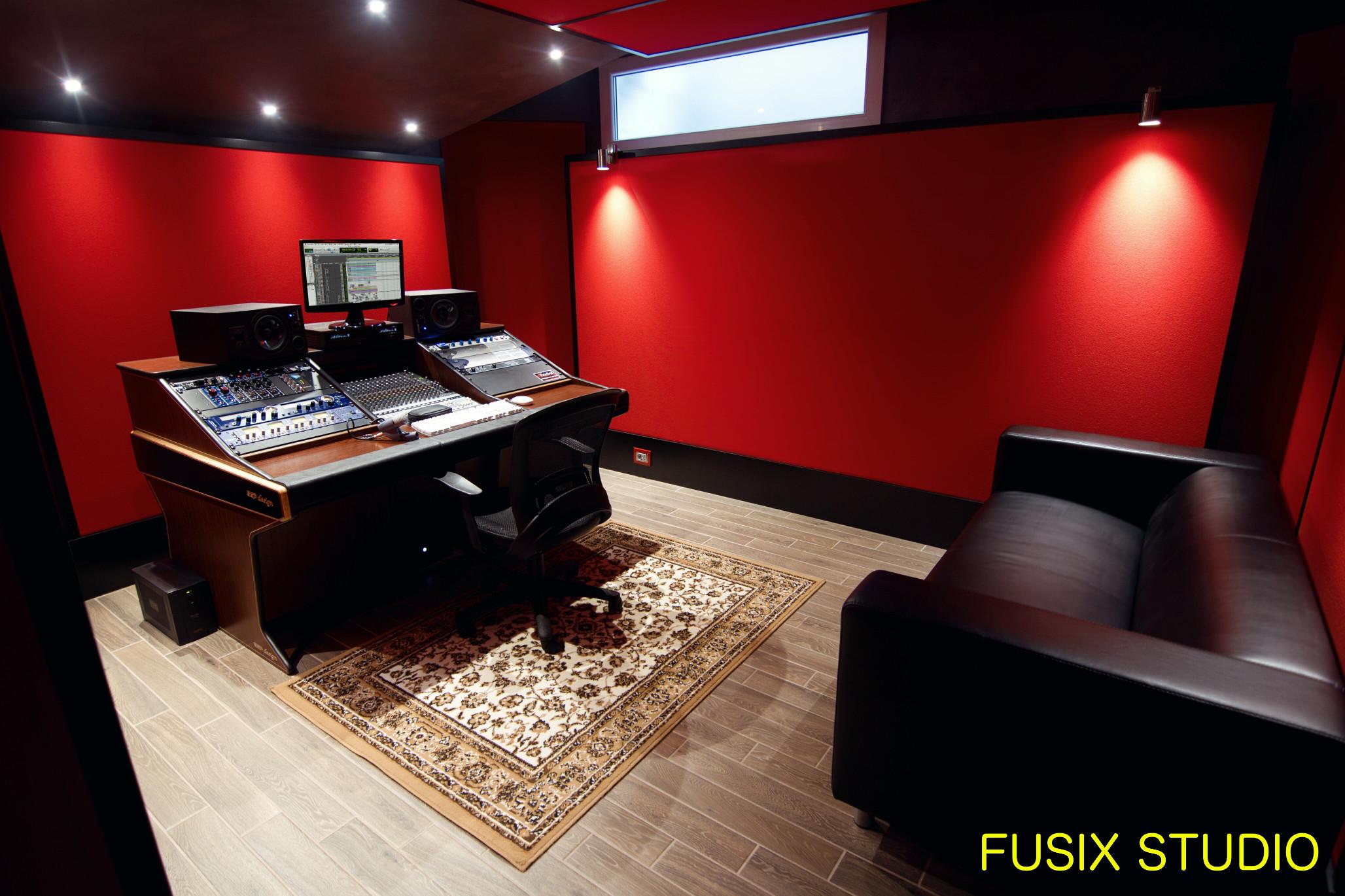 trattamento acustico studio registrazione Fusix Torino