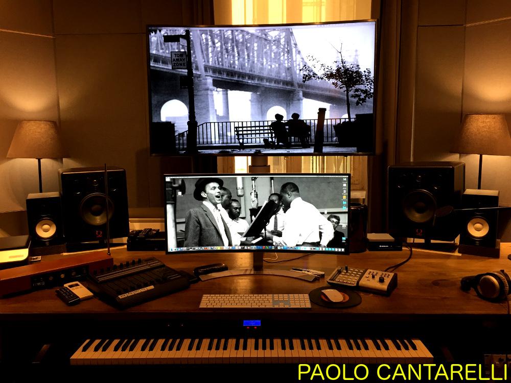 recording studio acoustics Paolo Cantarelli