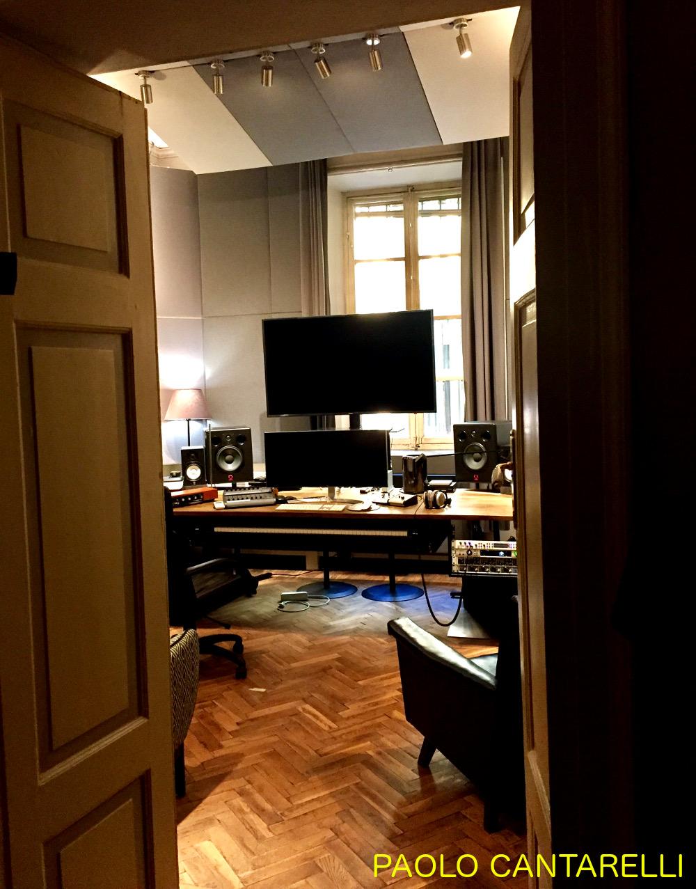 insonorizzazione studio registrazione Paolo Cantarelli