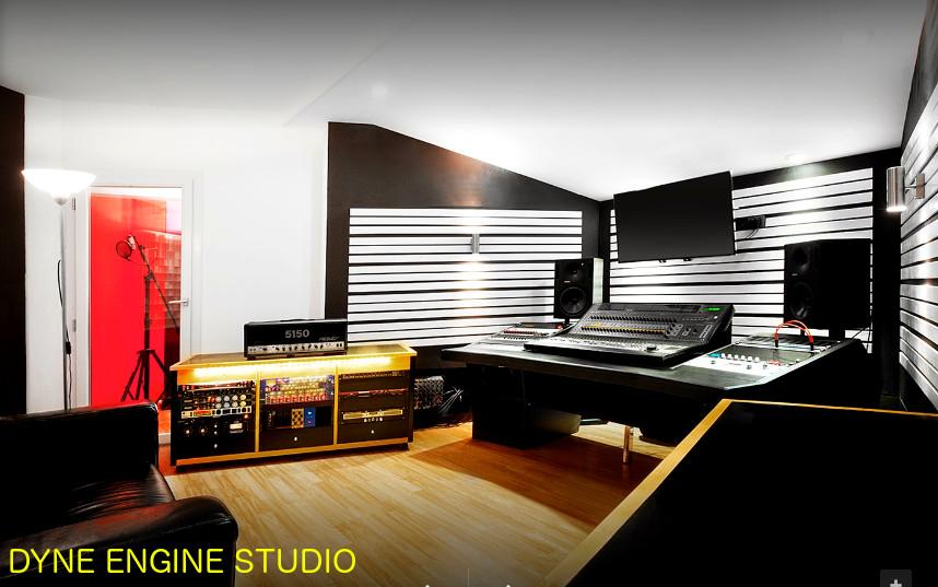 progetto trattamento acustico studio registrazione Dyne Engine
