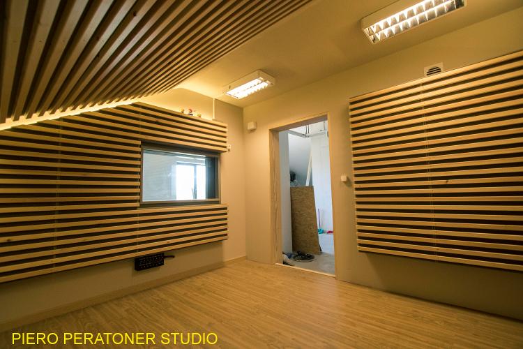 progettazione acustica studi di registrazione Peratoner