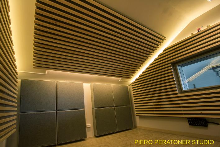 progetto studio di registrazione Peratoner