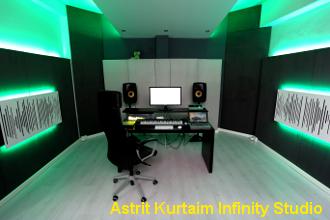 progetto acustico studio registrazione Astrit K