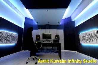 impianto elettrico studio di registrazione Astrit K Novara