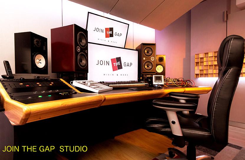 progetto sala incisione Join The Gap