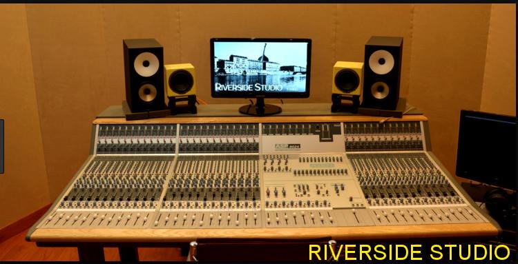 progettazione studio registrazione Torino Riverside