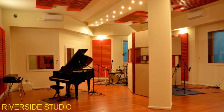 costruzione studio registrazione Torino Riverside