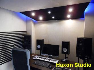 progettazione sala incisione musicale Haxon