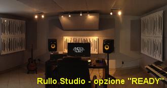 come costruire studio registrazione Rullo Studio