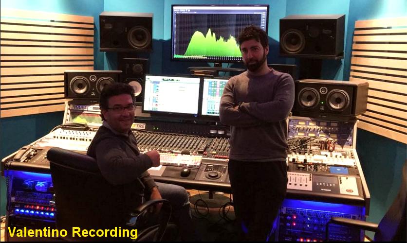 costruzione studio di registrazione Valentino Recording