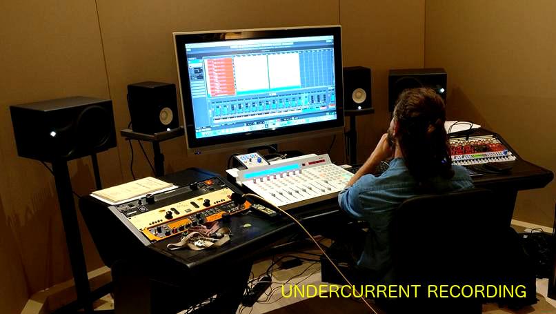 progettazione acustica sala di ripresa UnderCurrent Roma