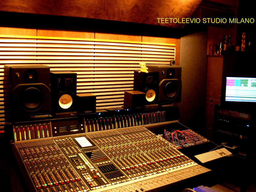 progettazione studi registrazione professionali Teetoleevio Studio