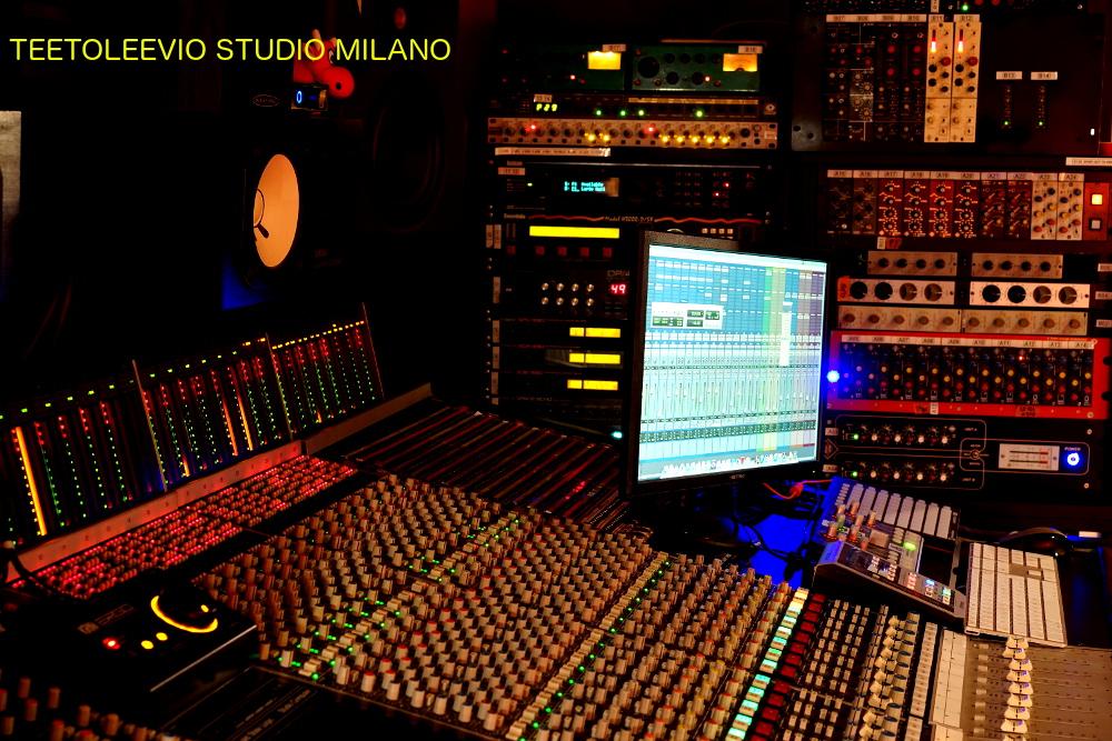 Teetoleevio progettazone studio di registrazione Milano